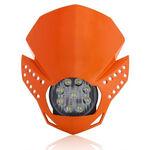 _Acerbis Fulmine Headlight Orange | 0022772.010 | Greenland MX_