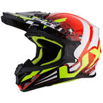 _Scorpion VX-21 Air Xagon Helmet Red/Yellow Fluo | 31-252-160-P | Greenland MX_