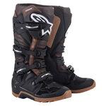 _Alpinestars Tech 7 Enduro Boots Black/Brown | 2012114-1089 | Greenland MX_