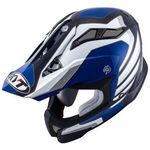 _KYT Strike Eagle Wings Helmet White/Blue   KYT-YSEA0013   Greenland MX_