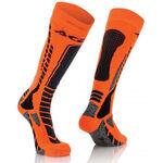 _Acerbis MX Pro Socks Black/Orange Fluor | 0022077.313 | Greenland MX_