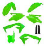 _Acerbis Kawasaki KX 450 F 16-17 Kit Full Fluor Green | 0021843.131-P | Greenland MX_