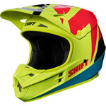 _Casco Shift White Label Tarmac Amarillo Flúor | 17232-130 | Greenland MX_