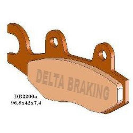 _Delta Front Brake Pads Yamaha YZ 125 90-97 250 89-97 WR 250 91-97 RM 125/250 87-95 KLX 250 9-13 Husqvarna CR/TC/TE/WR 92-94 | DB2200 | Greenland MX_