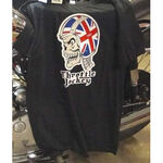_TJ Skull UK T-shirt Black | CABSKULLUK | Greenland MX_