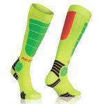 _Acerbis MX Impact Youth Socks Orange Fluor/Yellow Fluor   0021909.206   Greenland MX_