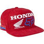 _Fox Honda HRC Youth Snapback Hat Red   28683-122-OS-P   Greenland MX_