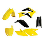 _Full Kit Plásticos Acerbis Suzuki RMZ 450 08-17 Réplica 14   0013982.553.014   Greenland MX_