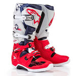 _Alpinestars Tech 7 5 Stars Limited Edition Boots Red/Grey | 2012014-9034 | Greenland MX_