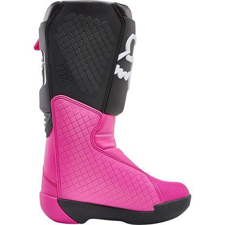 _Fox Comp Women Boots Black/Pink | 24013-285 | Greenland MX_