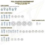 _Suzuki Full Plastics Fastener Kits RMZ 250 07-09 | BO-SUZ-071002 | Greenland MX_