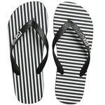 _Fox Jail Break Beach Sandals Black/White   21243-018-P   Greenland MX_