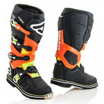 _Acerbis X-Rock Boots Black/Orange Fluo | 0022441.446 | Greenland MX_