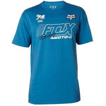 _Fox Flection Tech T-shirt Blue | 21536-522-P | Greenland MX_