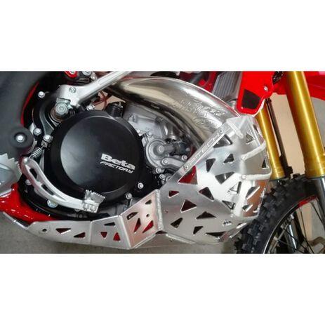 _Cubrecárter con Protector de Escape y Bieletas P-Tech Beta RR 250/300 2T 13-19 | PK002B | Greenland MX_