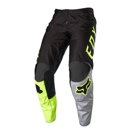 _Fox 180 Lovl Special Edition Black/Yellow Fluo Pants | 26527-019 | Greenland MX_