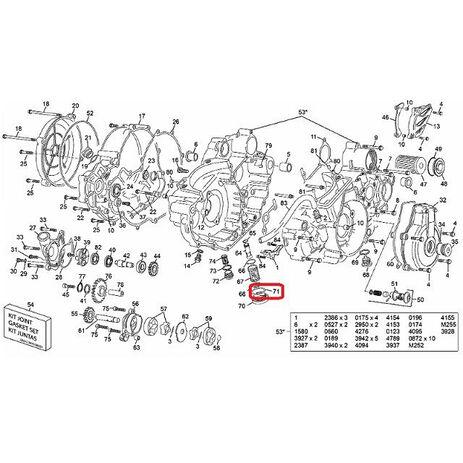 _Hot Rods Crankshaft Kawasaki KX 80 91-00 KX 85 01-05 | 4016 | Greenland MX_