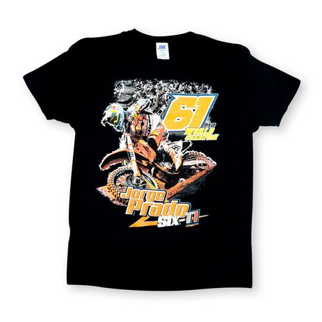 _Jorge Prado Action Tee Black | JP61-200BK | Greenland MX_