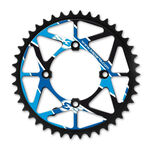 _Rear Sprocket S3 Trial Rear Sprocket Black-Red | CH-469-BU | Greenland MX_
