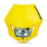 _Polisport MMX Headlight Yellow   8663500004   Greenland MX_