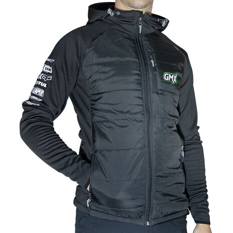 _GMX Hybrid Therm Jacket Black | PU-AJH-1259-01 | Greenland MX_