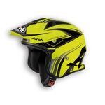 _Casco Airoh Trial TRR Dapper Amarillo | TRRD31-P | Greenland MX_