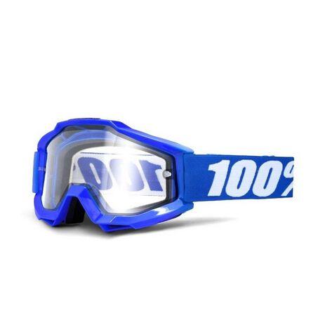 _100% Goggles Accuri Reflex Blue | 50202.002.02 | Greenland MX_