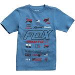 _Fox Edify Youth T-shirt Blue | 21002-157-YP | Greenland MX_