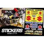 _Adhesivos Variados 4MX Suzuki | 01KITA606S | Greenland MX_