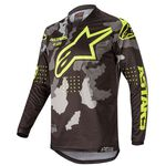 _Jersey Alpinestars Racer Tactical 2020 Negro/Camuflaje/Amarillo Flúor | 3761220-1154 | Greenland MX_