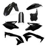 _Acerbis Kawasaki KX 450 F 16-17 Plastic Kit Full Black | 0021843.090-P | Greenland MX_