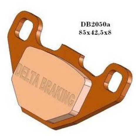 _Delta Rear Brake Pads Gas Gas 80/125 EC 94-95 KTM 89-93 (Brembo-Grimeca) | DB2050 | Greenland MX_