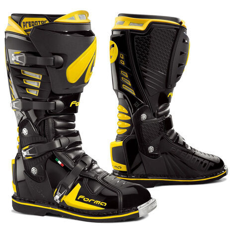 _Forma Predator Boots Yellow | 70400106-00P | Greenland MX_