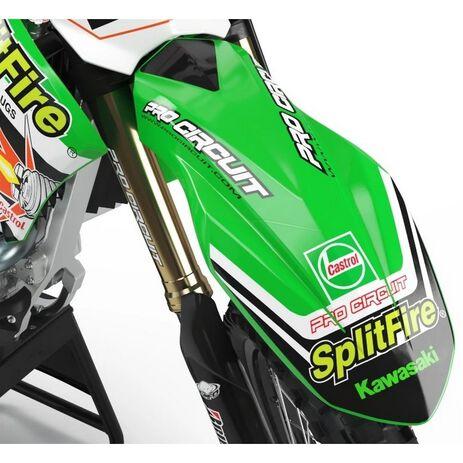 _Adhesivos Guardabarros Delantero Pro Circuit (125cc-500cc) | DC0010 | Greenland MX_