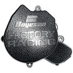 _Boyesen Ignition Cover Factory Racing KTM SX-F 250 06-10 Black/Silver/-   BY-SC-44-P   Greenland MX_