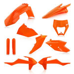 _Acerbis KTM EXC/EXC-F 17-19 Plastic Full Kit Orange 16 | 0023591.011.016-P | Greenland MX_