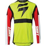 _Shift 3Lack Label Race Jersey Yellow Fluo | 24142-130 | Greenland MX_