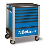 _Servante Mobile d'Atelier à Sept Tiroirs Beta Tools | C24S-7-B-P | Greenland MX_