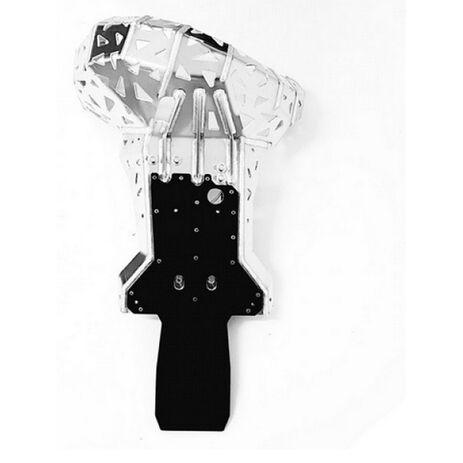 _Sabot Avec Protecteur Bielette et Echappement P-Tech  KTM EXC 250/300 07-16 HVA TE 250/300 14-16 | PK001H | Greenland MX_