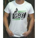 _Logo GMX Dirt Rider Tee White | PU-TGMXDRWT | Greenland MX_