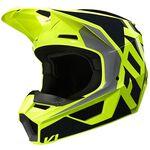_Fox V1 Prix Helmet Black/Yellow Fluo | 25471-019 | Greenland MX_