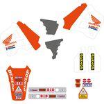 _Tecnosel Decal Kit + Seat Cover Replica Team Honda 1991 USA CR 125 91-92 250 90-91 | 81V01 | Greenland MX_