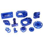 _Zeta Racing Kawasaki KX 250 F 17-18 KX 450 F 16-18 Aluminum Accessories Kit Blue | ZE51-2146 | Greenland MX_