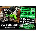 _4MX Assorted Stickers Kawasaki | 01KITA606KW | Greenland MX_