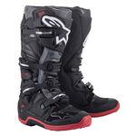 _Alpinestars Tech 7 Boots Black/Gray/Red | 2012014-1153 | Greenland MX_
