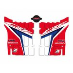 _Blackbird Replica Team HRC Honda CR 450 F 17-20 Radiator Louver Decal Kit | A106R18 | Greenland MX_