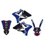_Graphic Kit Blackbird Dream 4 Yamaha YZ 125/250 02-14 | 2231N | Greenland MX_