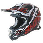 _Shiro MX-917 Thunder Helmet Red | 977-09 | Greenland MX_