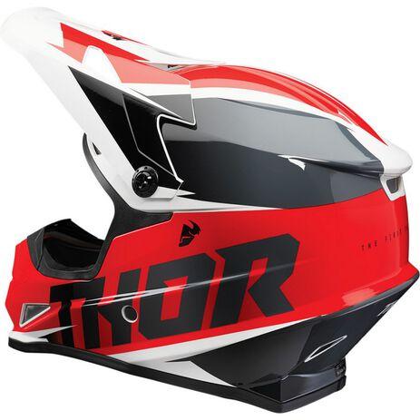 _Thor Sector Fader Helmet | 0110-67RN-P | Greenland MX_