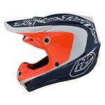 _ Troy Lee Designs SE4 Corsa Helmet Navy/Orange | 109133011-P | Greenland MX_